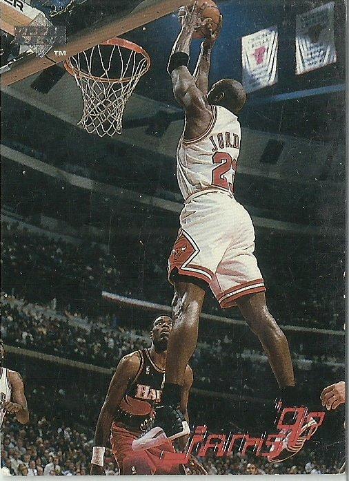 1997 Upper Deck Michael Jordan No. 139