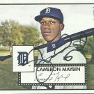 2007 Topps '52 Cameron Maybin No. 180 RC Autograph