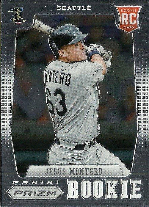2012 Panini Prizm Jesus Montero No. 158 RC