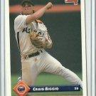 1993 Donruss Craig Biggio No. 84