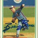 1991 Score Brian Barnes No. 708 Autograph