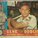1960 Topps Gene Woodling No. 190 (Damaged)