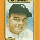 1987 Baseball's All-Time Greats Babe Ruth