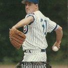 1993 Triple Play League Leaders Greg Maddux, Dennis Eckersley No. L2