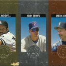 1994 Triple Play Medalists Jack McDowell, Kevin Brown, Randy Johnson No. 13 of 15
