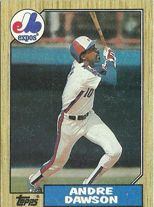 1987 Topps Andre Dawson No. 345