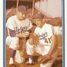 1987 TCMA Clem Labine, Ed Roebuck No. 8-1955