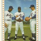 1987 TCMA Cleon Jones, Tommy Agee, Ron Swoboda No. 3-1969