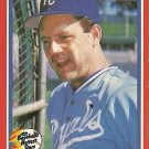 1987 Fleer Baseball's Hottest Stars George Brett No. 6 of 44