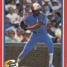 1987 Fleer Baseball's Hottest Stars Andre Dawson No. 13 of 44