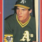 1987 Fleer Baseball's Hottest Stars Jose Canseco No. 9 of 44