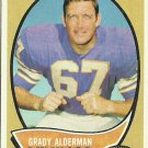1970 Topps Grady Alderman No. 108