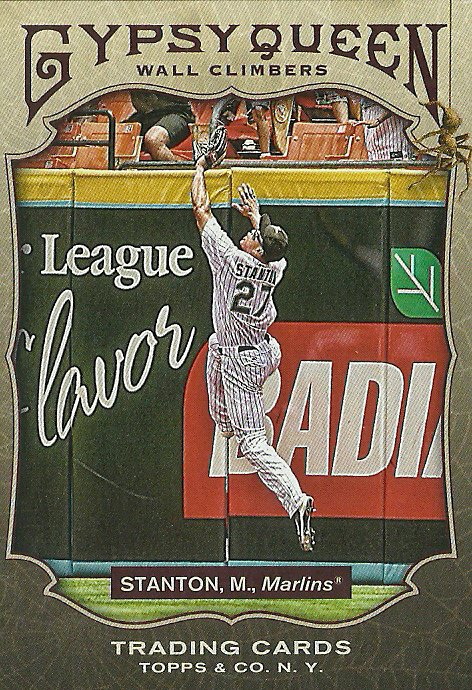 2011 Topps Gypsy Queen Wall Climbers Mike Stanton No. WC2