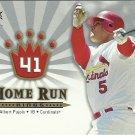 2006 Fleer Home Run Kings Albert Pujols No. HRK1