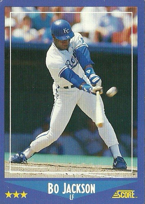 1988 Score Bo Jackson No. 180