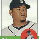 2012 Topps Heritage Felix Hernandez No. 246