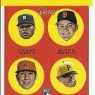 2012 Topps Heritage Luis Marte, Brett Pill, Efren Navarro, Jared Hughes No. 169 RC