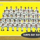 2011 Topps Heritage Tampa Bay Rays No. 334