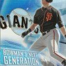 2017 Bowman Platinum Bowman's Next Generation Christian Arroyo No. BNG-CA RC