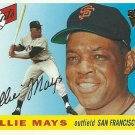 2003 Topps All-Time Fan Favorite Willie Mays No. 1