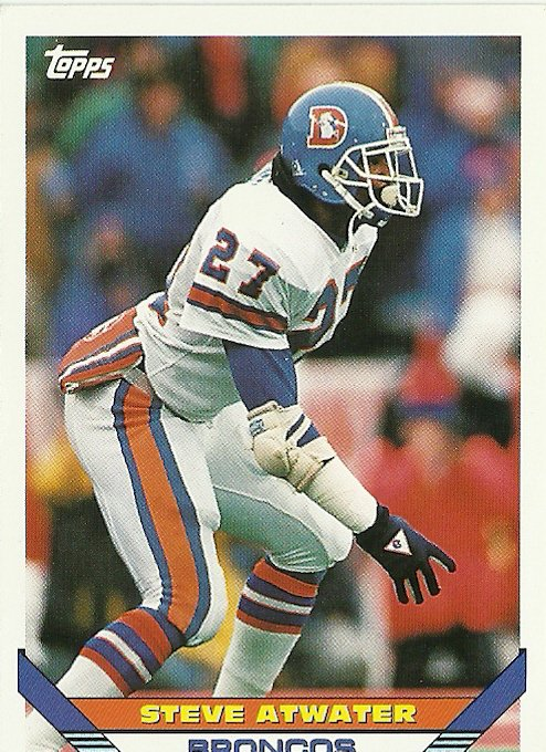 1993 Topps Steve Atwater No. 137