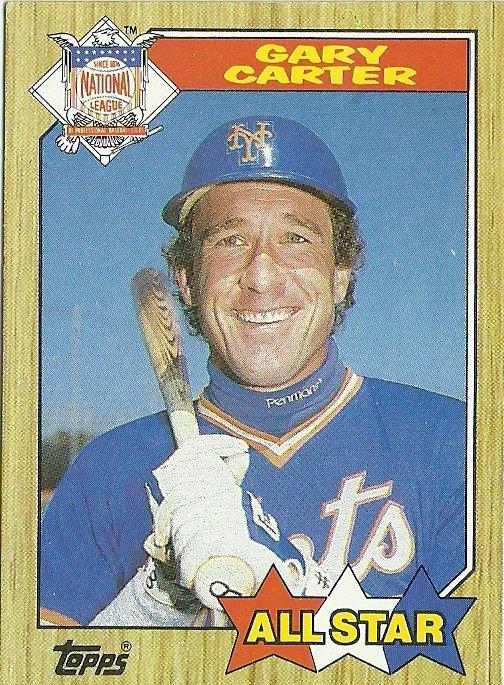 1987 Topps Gary Carter No. 602