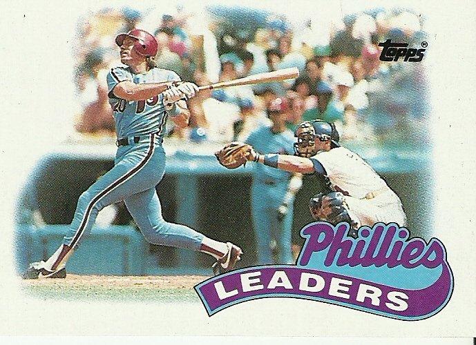 1989 Topps Philadelphia Phillies No. 489