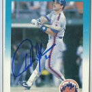 1987 Fleer Howard Johnson No. 13 Autograph