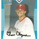 2008 Bowman Prospects Chance Chapman No. BP21 RC