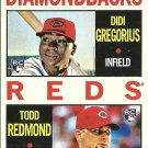 2013 Topps Heritage Didi Gregorius, Todd Redmond No. 33 RC
