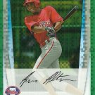 2011 Bowman Chrome Prospects Aaron Altherr No. BCP112 RC Green Refractor