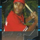 2005 Bowman Chrome Chris Roberson No. 209 RC