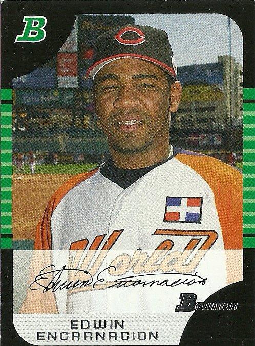 2005 Bowman Draft Picks Edwin Encarnacion No. BDP146 RC