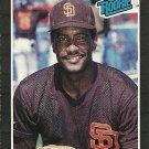 1989 Donruss Sandy Alomar Jr. No. 28 RC