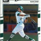 2017 Donruss Optics Khris Davis No. 124