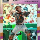 2017 Donruss Optics Buster Posey No. 134 Purple Parallel