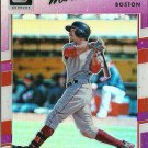 2017 Donruss Optics Mookie Betts No. 77 Purple Parallel