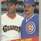 1989 Fleer Will Clark, Rafael Palmeiro No. 631