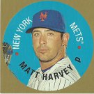 2016 Topps Heritage Disc Cards Matt Harvey No. 67TDC-MH
