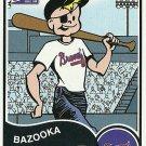 2003 Bazooka Bazooka Joe Atlanta Braves No. 7