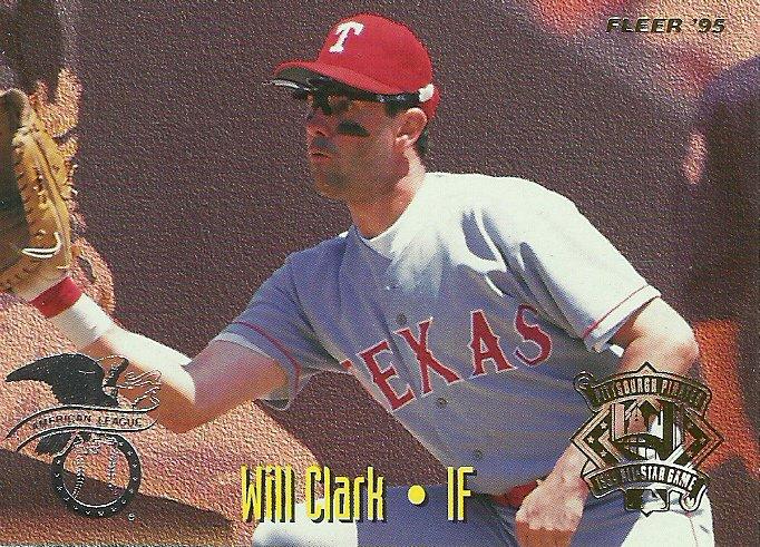 1995 Fleer All-Star Game Will Clark, Carlos Garcia No. 12 of 25