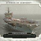 2008 Upper Deck A Piece of History USS Enterprise No. 172