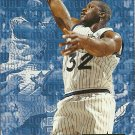 1995-96 Fleer Ultra Double Trouble Shaquille O'Neal No. 6 of 10