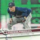 2017 Topps Freddie Freeman No. 244