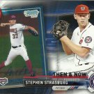 2017 Topps Then & Now Stephen Strasburg No. Bowman-11