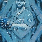 2017 Topps Fire Bryce Harper No.  76 Blue Chip Parallel