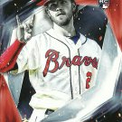 2017 Topps Fire Dansby Swanson No. 162 RC