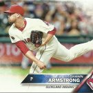 2016 Topps Shawn Armstrong No. 603 RC