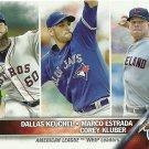 2016 Topps Dallas Keuchel, Marco Estrada, Corey Kluber No. 346