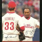 2007 Topps Aaron Rowand, Jimmy Rollins No. 658